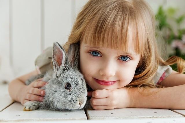kid & bunny