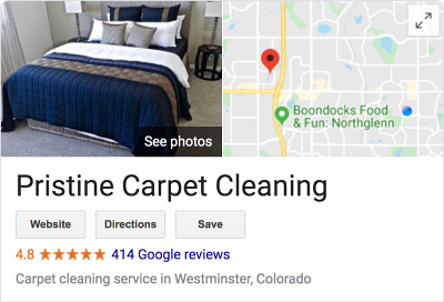 Denver Carpet Cleaning - PRISTINE